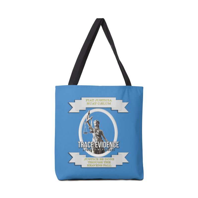 Justice Accessories Tote Bag Bag by Trace Evidence - A True Crime Podcast
