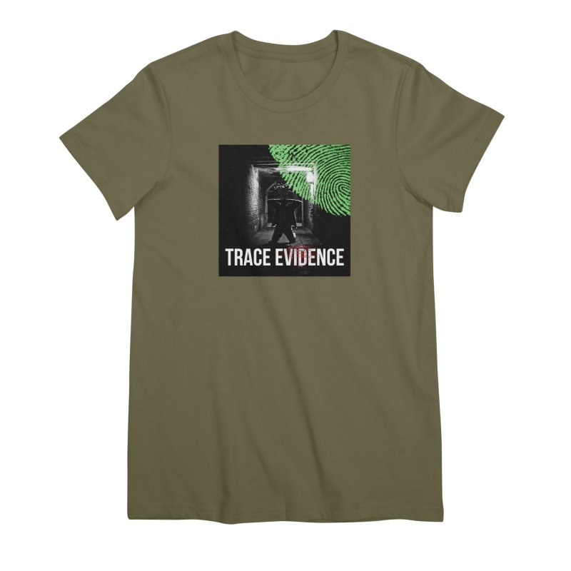 Colorized Women's Premium T-Shirt by Trace Evidence - A True Crime Podcast