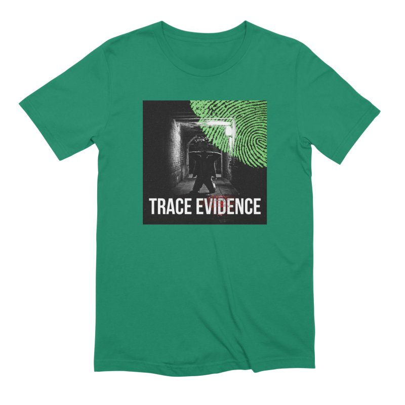 Colorized Men's Extra Soft T-Shirt by Trace Evidence - A True Crime Podcast