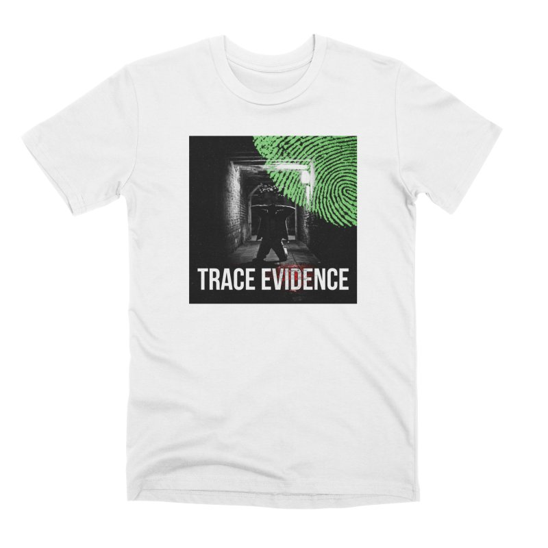 Colorized Men's Premium T-Shirt by Trace Evidence - A True Crime Podcast