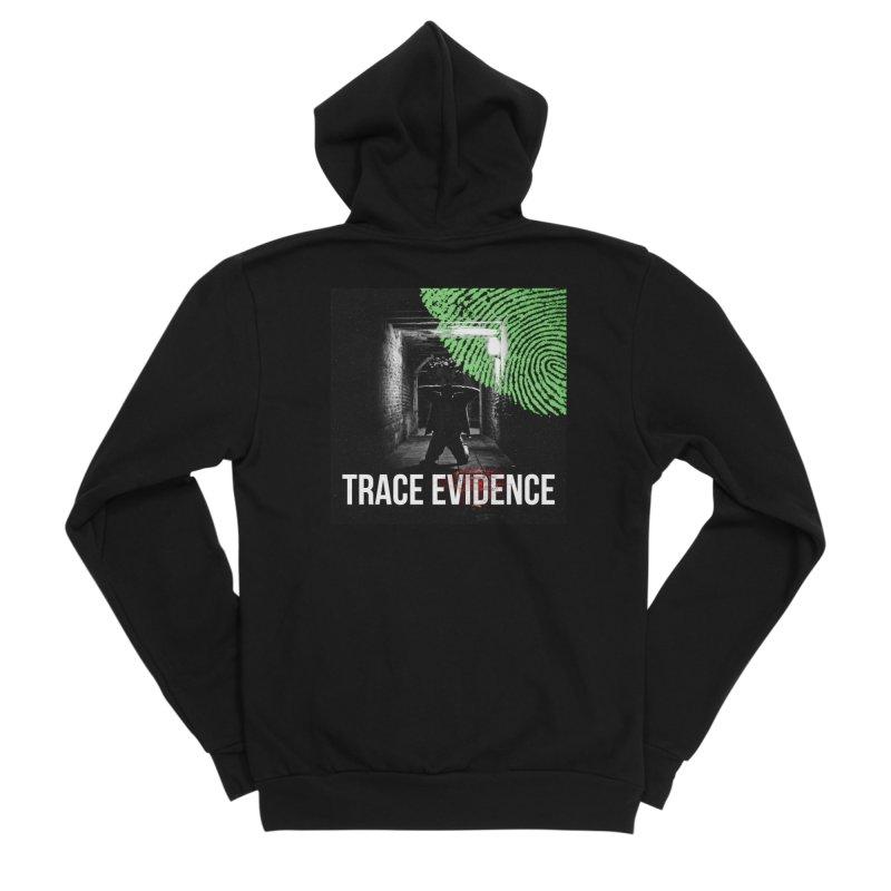 Colorized Women's Sponge Fleece Zip-Up Hoody by Trace Evidence - A True Crime Podcast