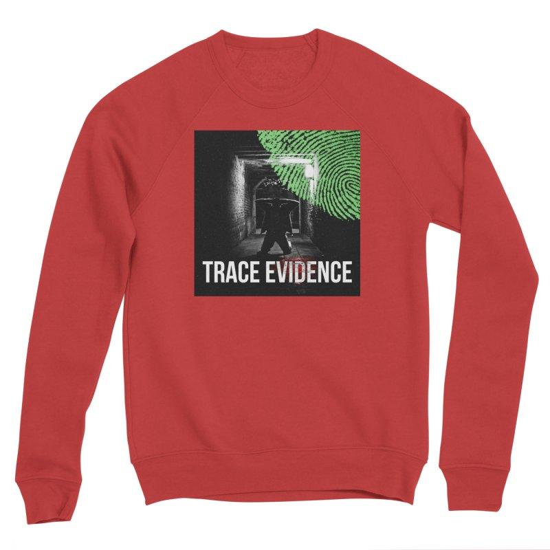 Colorized Men's Sponge Fleece Sweatshirt by Trace Evidence - A True Crime Podcast