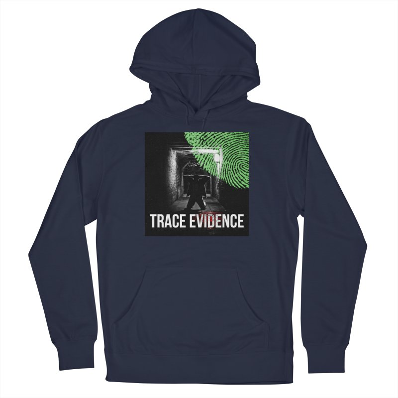 Colorized Women's French Terry Pullover Hoody by Trace Evidence - A True Crime Podcast