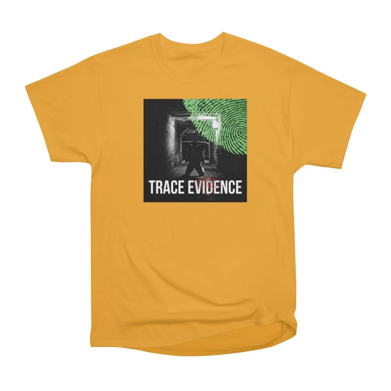 Colorized Men's Heavyweight T-Shirt by Trace Evidence - A True Crime Podcast