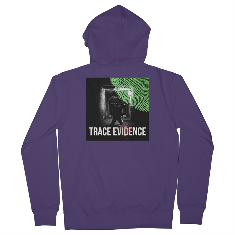 Colorized Women's French Terry Zip-Up Hoody by Trace Evidence - A True Crime Podcast