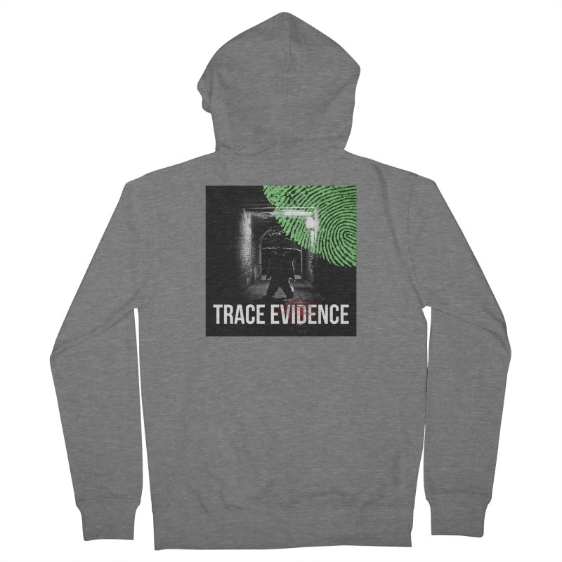 Colorized Men's French Terry Zip-Up Hoody by Trace Evidence - A True Crime Podcast