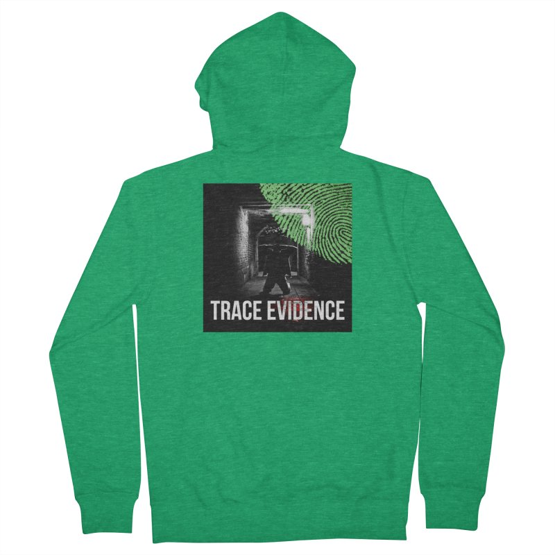 Colorized Men's Zip-Up Hoody by Trace Evidence - A True Crime Podcast