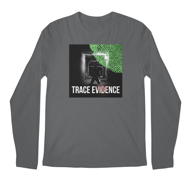 Colorized Men's Longsleeve T-Shirt by Trace Evidence - A True Crime Podcast