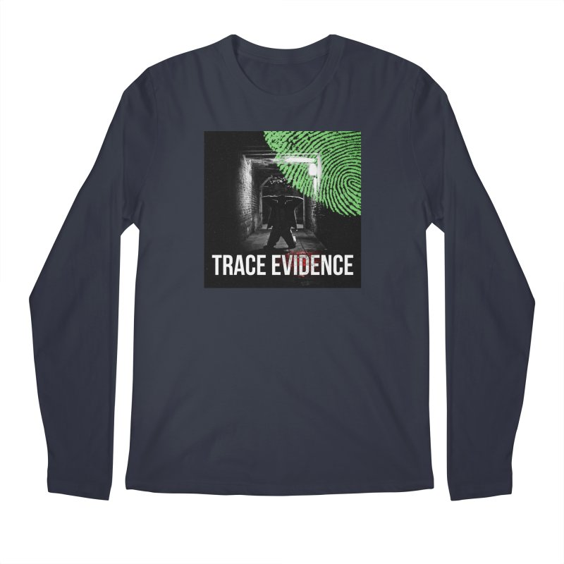 Colorized Men's Regular Longsleeve T-Shirt by Trace Evidence - A True Crime Podcast