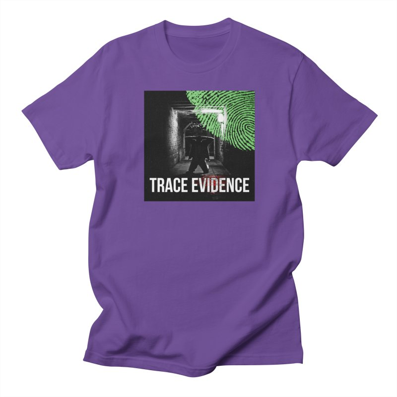 Colorized Men's Regular T-Shirt by Trace Evidence - A True Crime Podcast