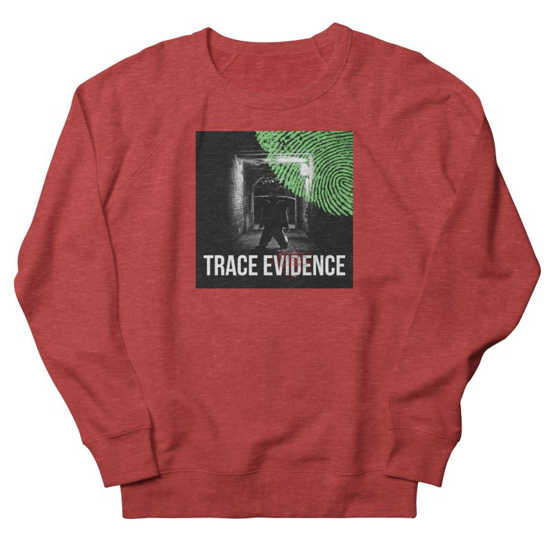 Colorized Men's French Terry Sweatshirt by Trace Evidence - A True Crime Podcast