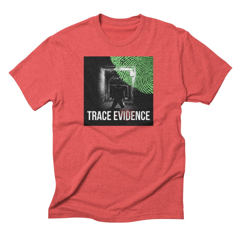 Colorized Men's Triblend T-Shirt by Trace Evidence - A True Crime Podcast