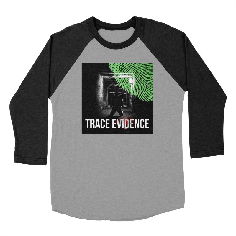 Colorized Men's Baseball Triblend Longsleeve T-Shirt by Trace Evidence - A True Crime Podcast