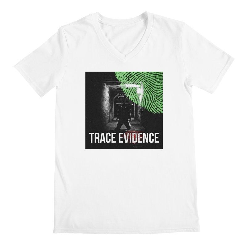 Colorized Men's V-Neck by Trace Evidence - A True Crime Podcast