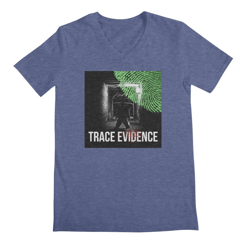 Colorized Men's Regular V-Neck by Trace Evidence - A True Crime Podcast