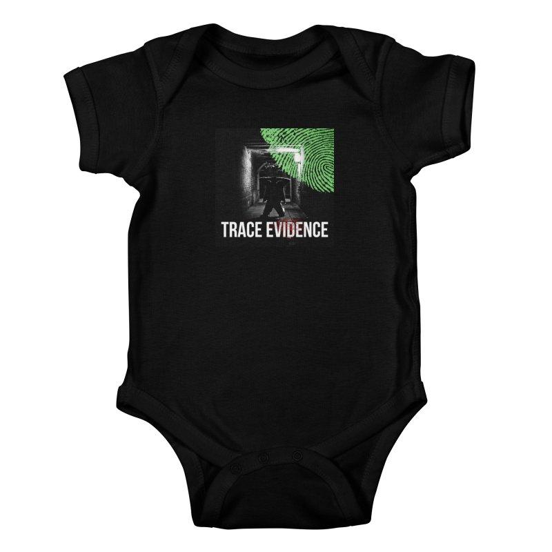 Colorized Kids Baby Bodysuit by Trace Evidence - A True Crime Podcast