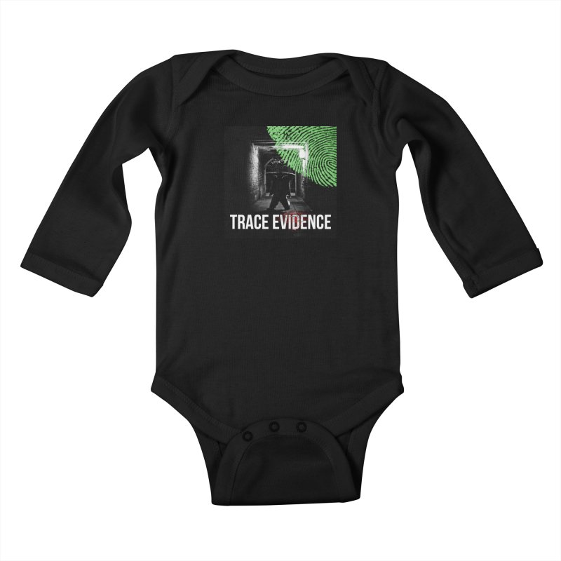 Colorized Kids Baby Longsleeve Bodysuit by Trace Evidence - A True Crime Podcast