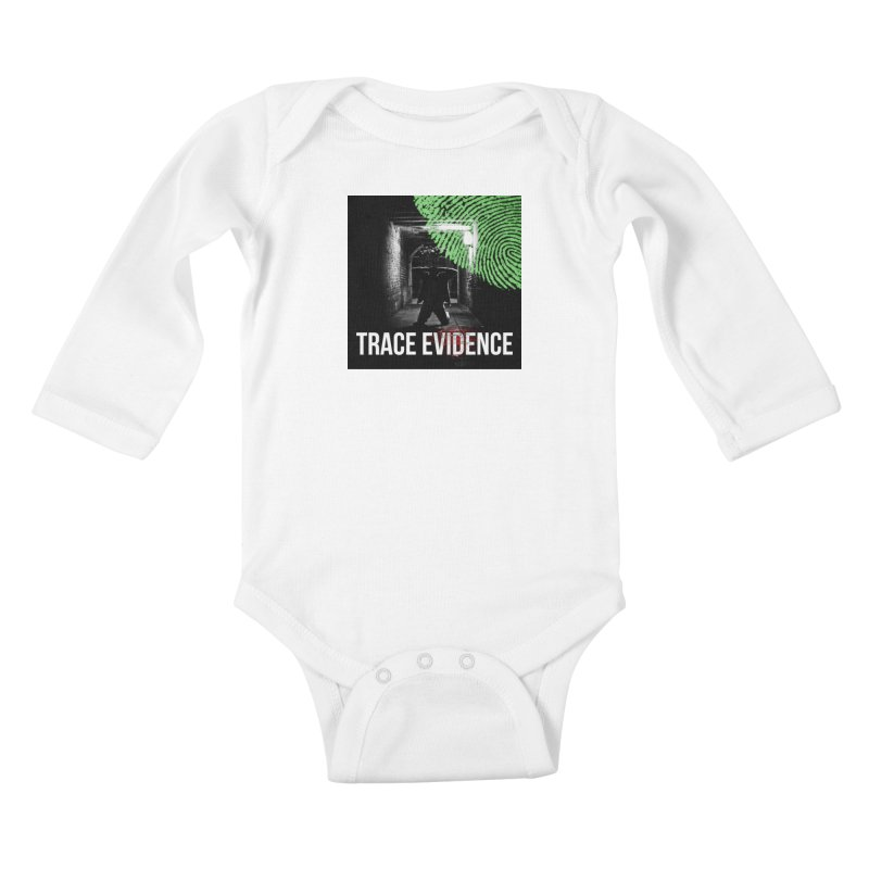Colorized Kids Baby Longsleeve Bodysuit by Trace Evidence - A True Crime Podcast