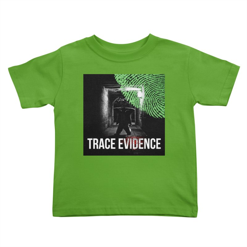 Colorized Kids Toddler T-Shirt by Trace Evidence - A True Crime Podcast