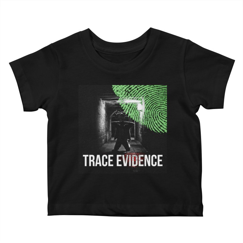 Colorized Kids Baby T-Shirt by Trace Evidence - A True Crime Podcast
