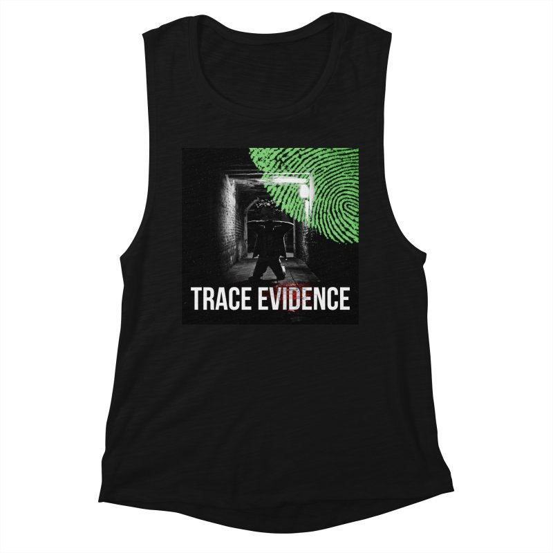 Colorized Women's Tank by Trace Evidence - A True Crime Podcast
