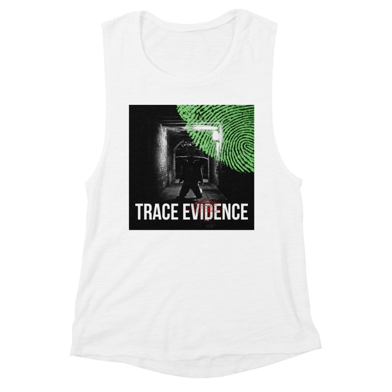 Colorized Women's Muscle Tank by Trace Evidence - A True Crime Podcast