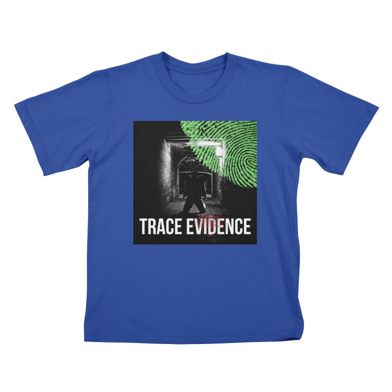 Colorized Kids T-Shirt by Trace Evidence - A True Crime Podcast