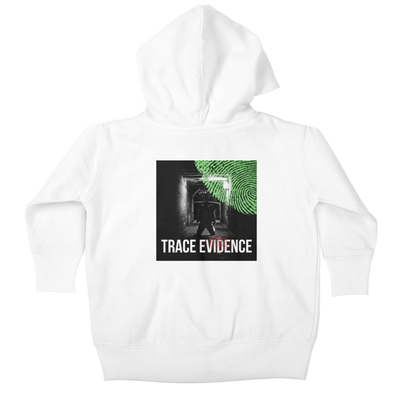 Colorized Kids Baby Zip-Up Hoody by Trace Evidence - A True Crime Podcast