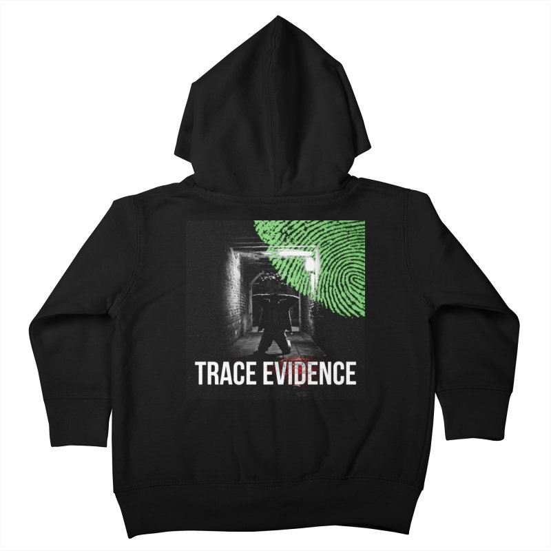 Colorized Kids Toddler Zip-Up Hoody by Trace Evidence - A True Crime Podcast