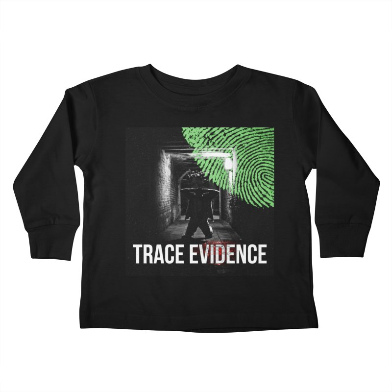 Colorized Kids Toddler Longsleeve T-Shirt by Trace Evidence - A True Crime Podcast