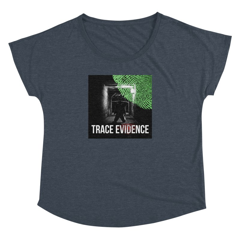 Colorized Women's Dolman Scoop Neck by Trace Evidence - A True Crime Podcast