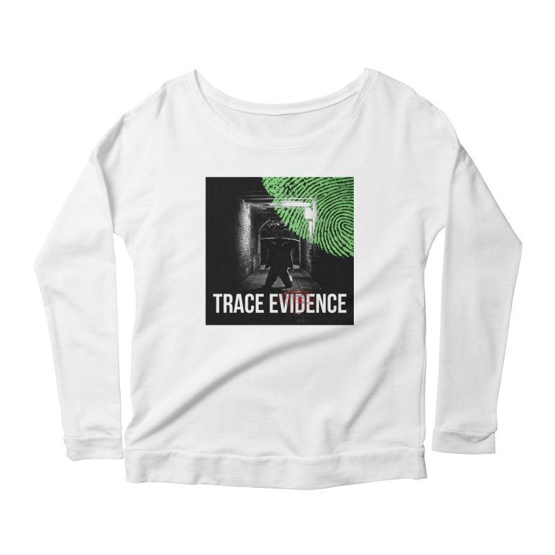 Colorized Women's Scoop Neck Longsleeve T-Shirt by Trace Evidence - A True Crime Podcast