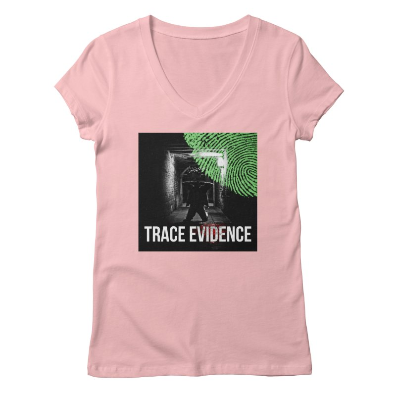Colorized Women's Regular V-Neck by Trace Evidence - A True Crime Podcast