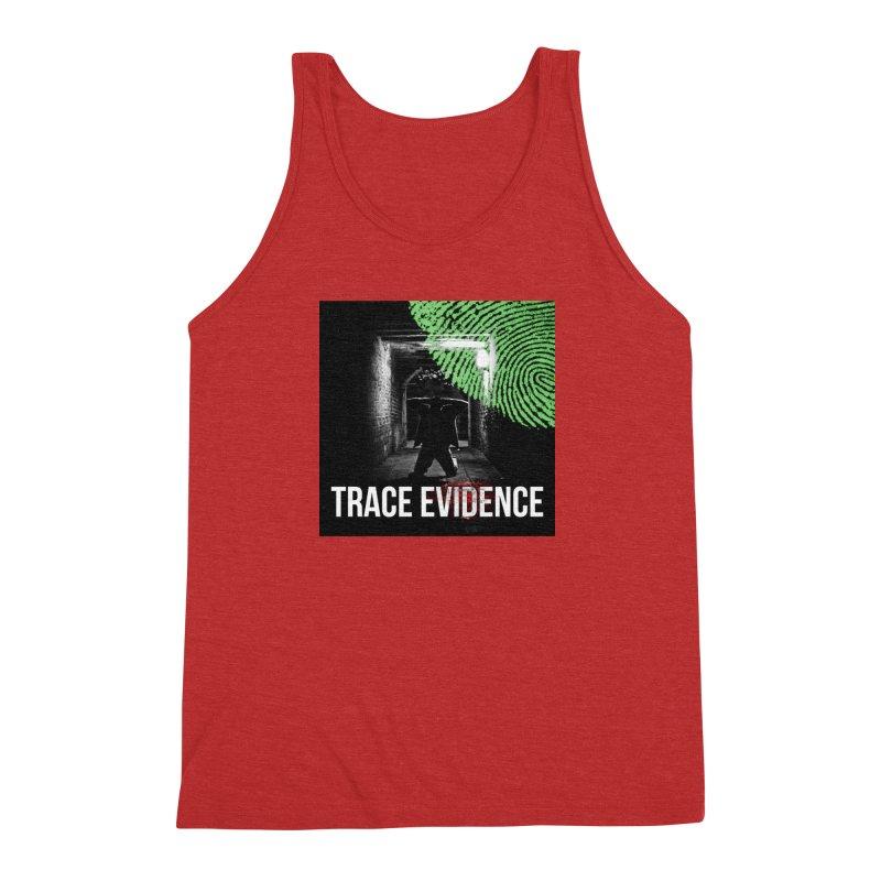 Colorized Men's Triblend Tank by Trace Evidence - A True Crime Podcast