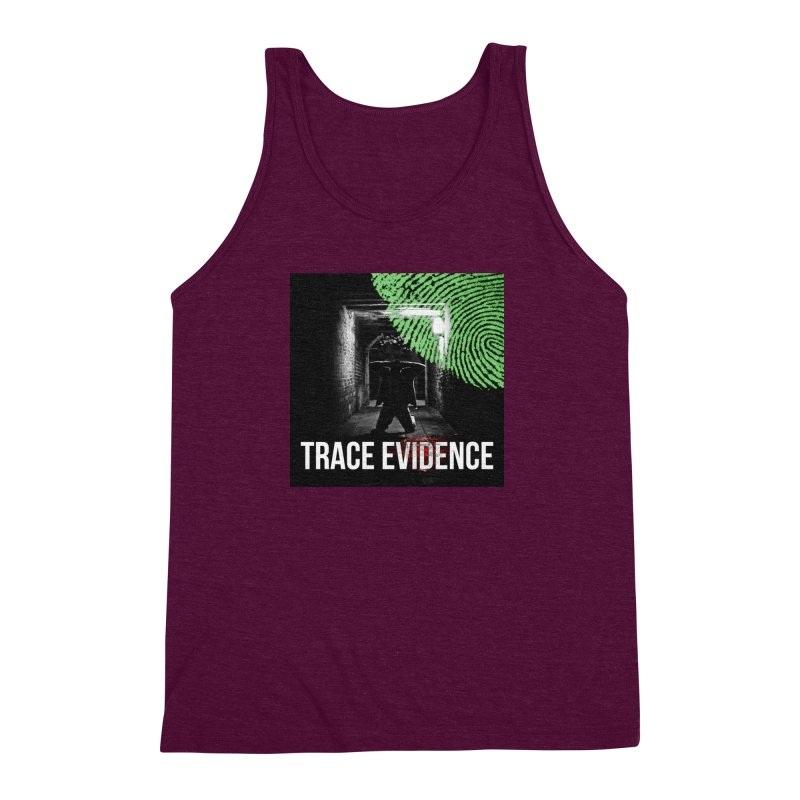 Colorized Men's Triblend Tank by Trace Evidence - A True Crime Podcast