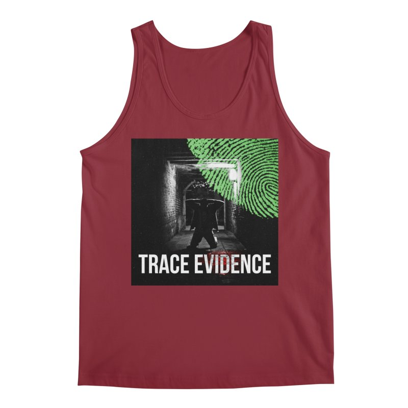 Colorized Men's Regular Tank by Trace Evidence - A True Crime Podcast