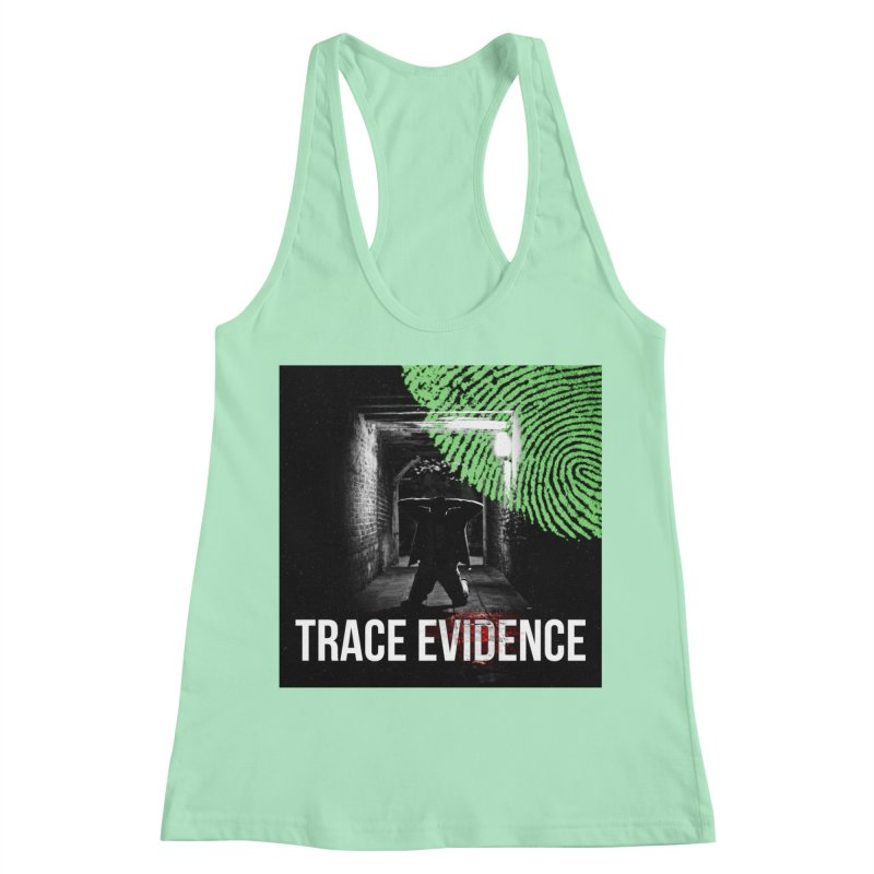 Colorized Women's Racerback Tank by Trace Evidence - A True Crime Podcast