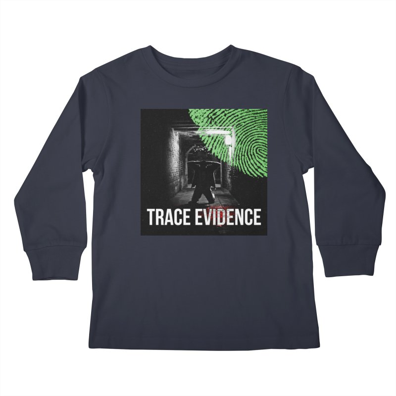 Colorized Kids Longsleeve T-Shirt by Trace Evidence - A True Crime Podcast