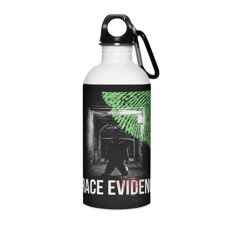 Colorized Accessories Water Bottle by Trace Evidence - A True Crime Podcast