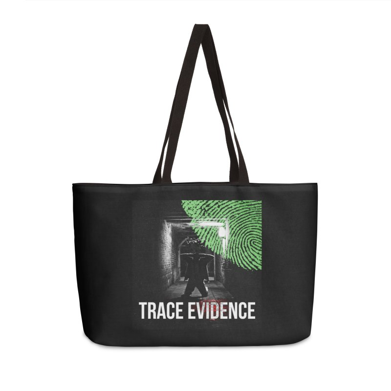 Colorized Accessories Weekender Bag Bag by Trace Evidence - A True Crime Podcast