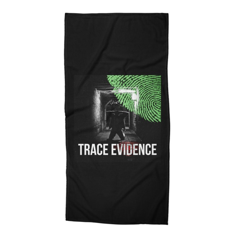 Colorized Accessories Beach Towel by Trace Evidence - A True Crime Podcast