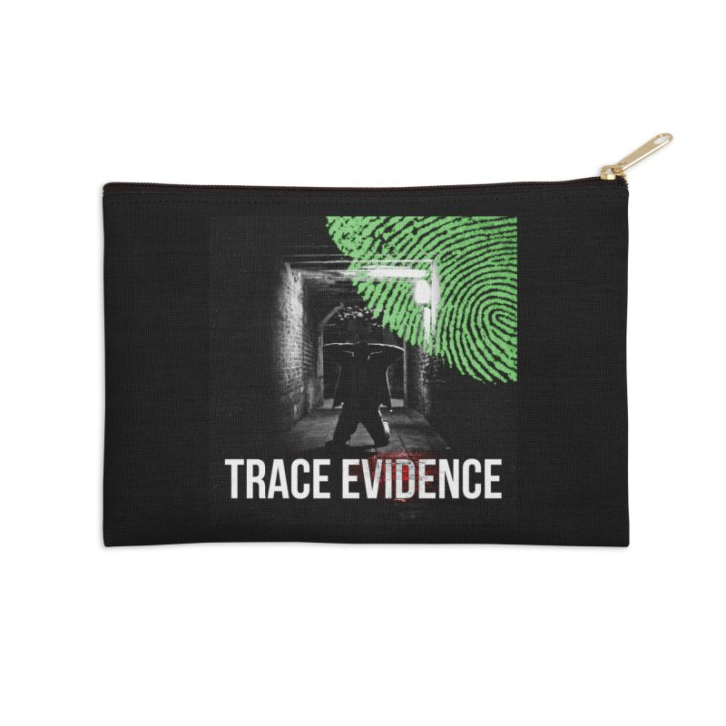 Colorized Accessories Zip Pouch by Trace Evidence - A True Crime Podcast