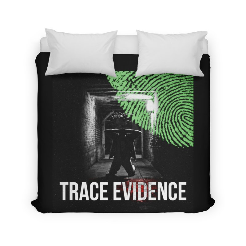 Colorized Home Duvet by Trace Evidence - A True Crime Podcast