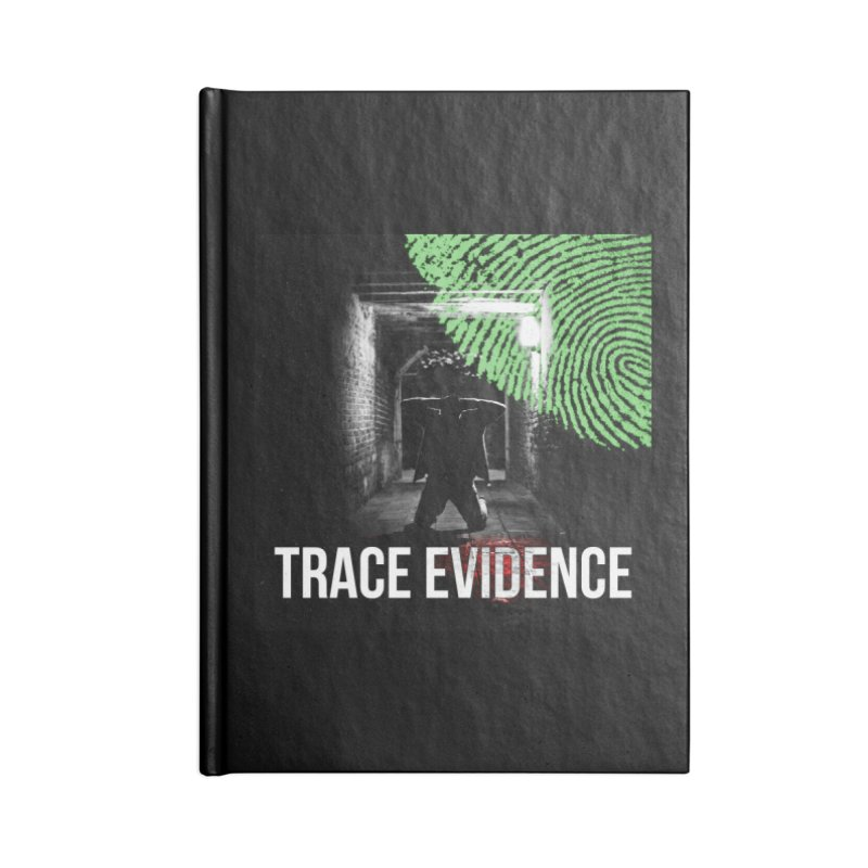 Colorized Accessories Blank Journal Notebook by Trace Evidence - A True Crime Podcast