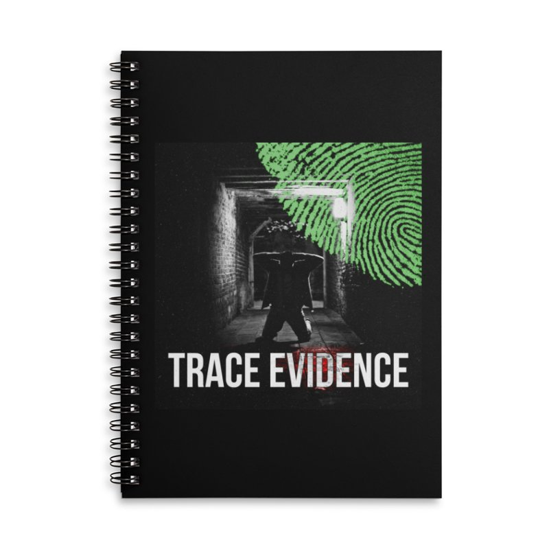 Colorized Accessories Lined Spiral Notebook by Trace Evidence - A True Crime Podcast