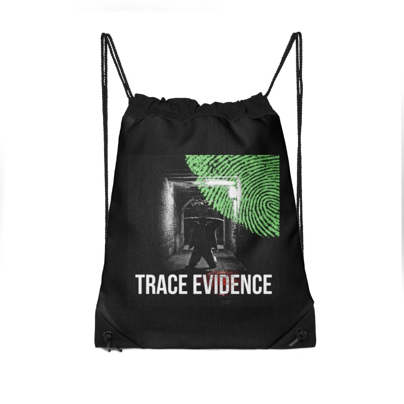 Colorized Accessories Drawstring Bag Bag by Trace Evidence - A True Crime Podcast