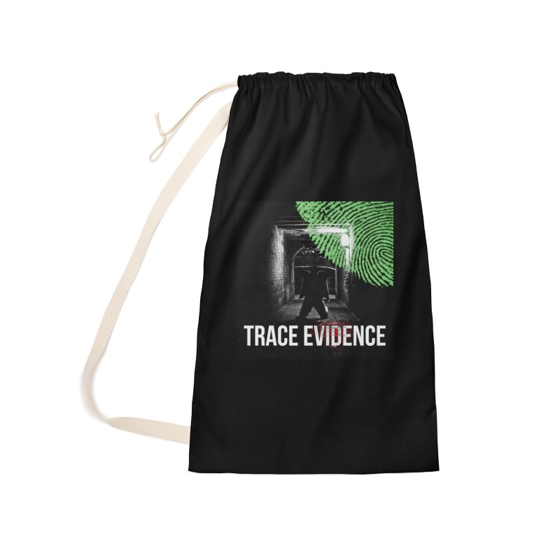 Colorized Accessories Laundry Bag Bag by Trace Evidence - A True Crime Podcast