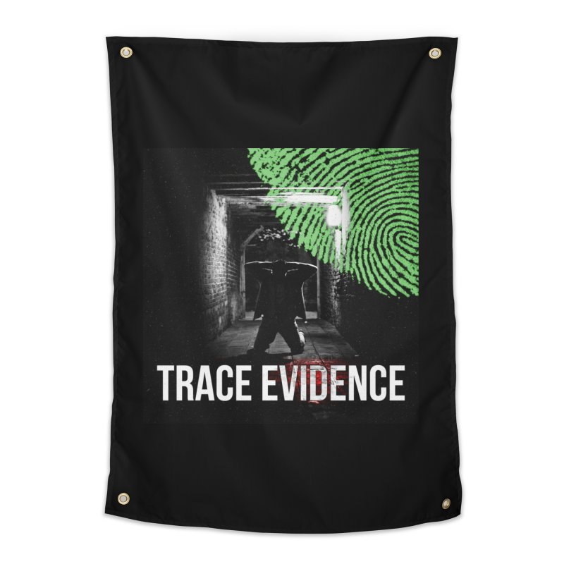 Colorized Home Tapestry by Trace Evidence - A True Crime Podcast