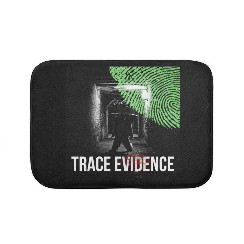 Colorized Home Bath Mat by Trace Evidence - A True Crime Podcast