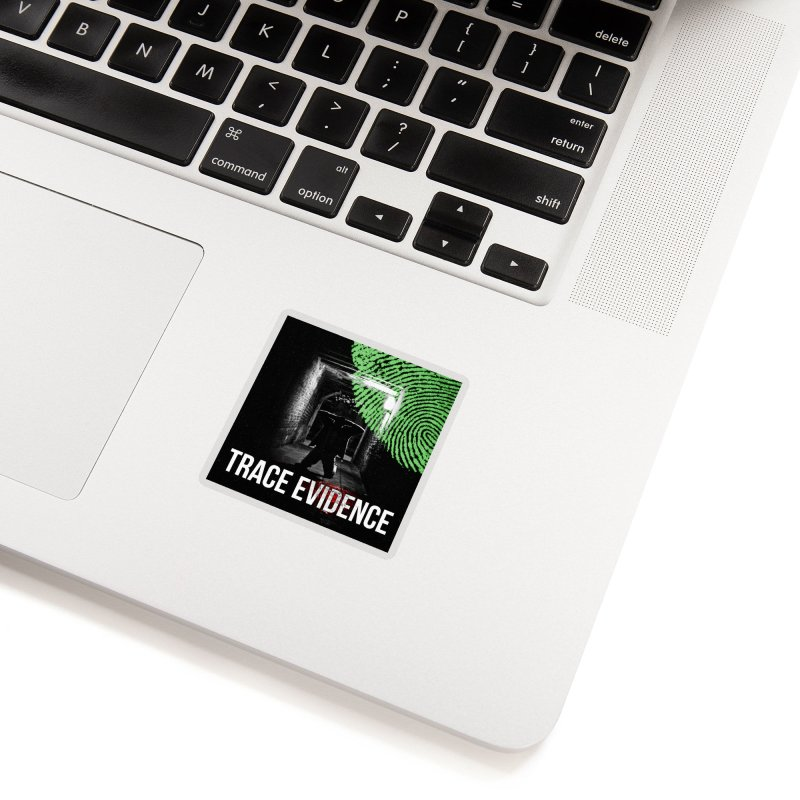 Colorized Accessories Sticker by Trace Evidence - A True Crime Podcast